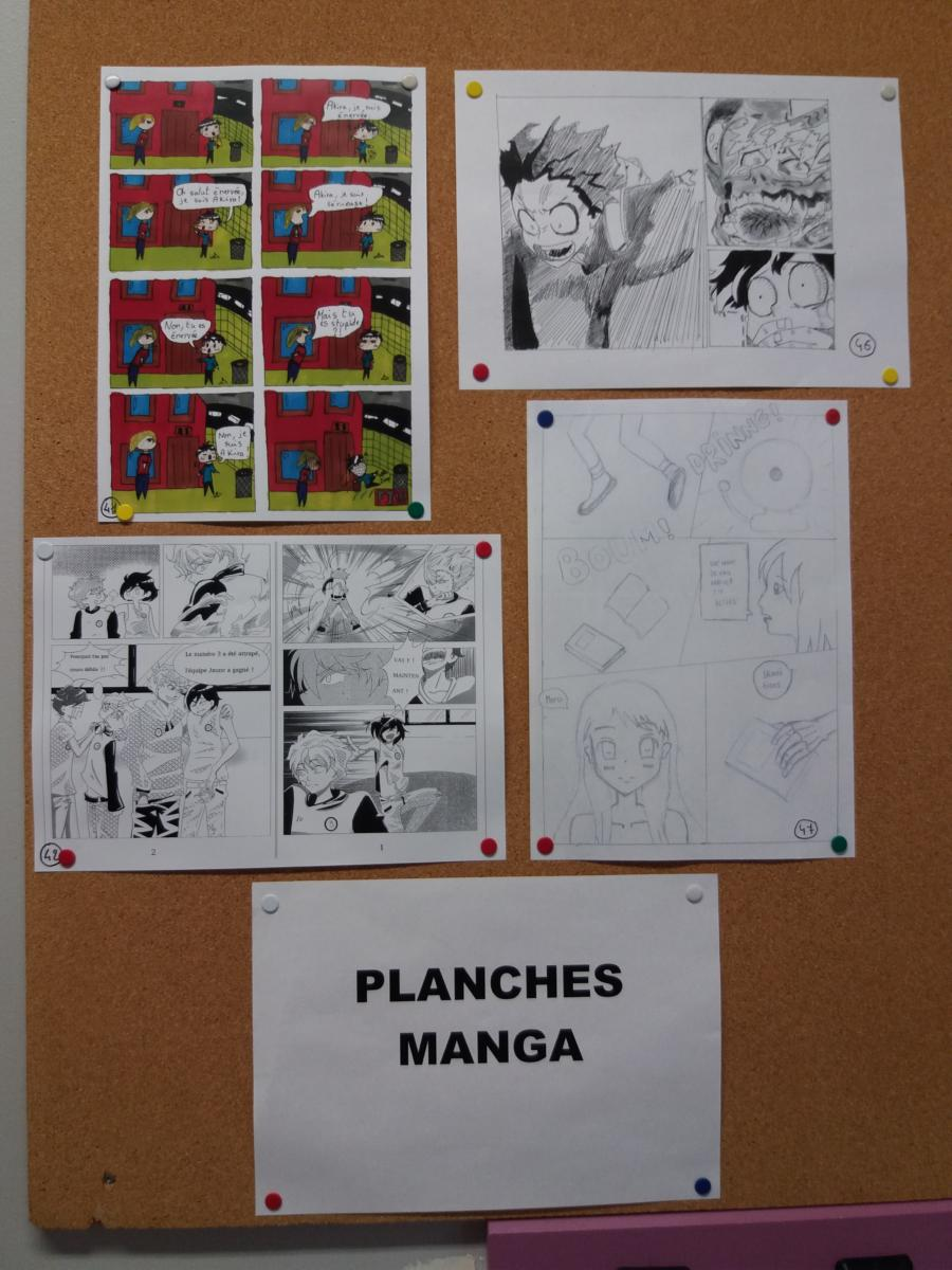 Prix Mangaka sur Seine 2018 : catégorie planches manga